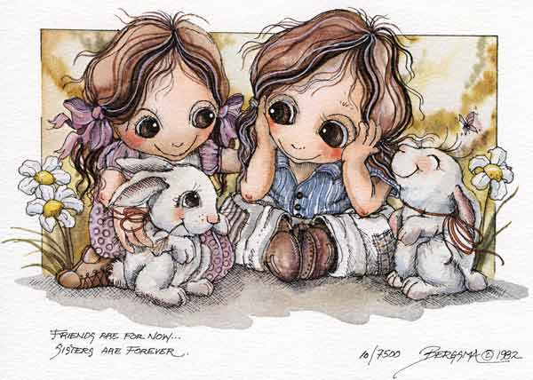 Friends Are For Now... Sisters Are Forever - DreamKeeper Print