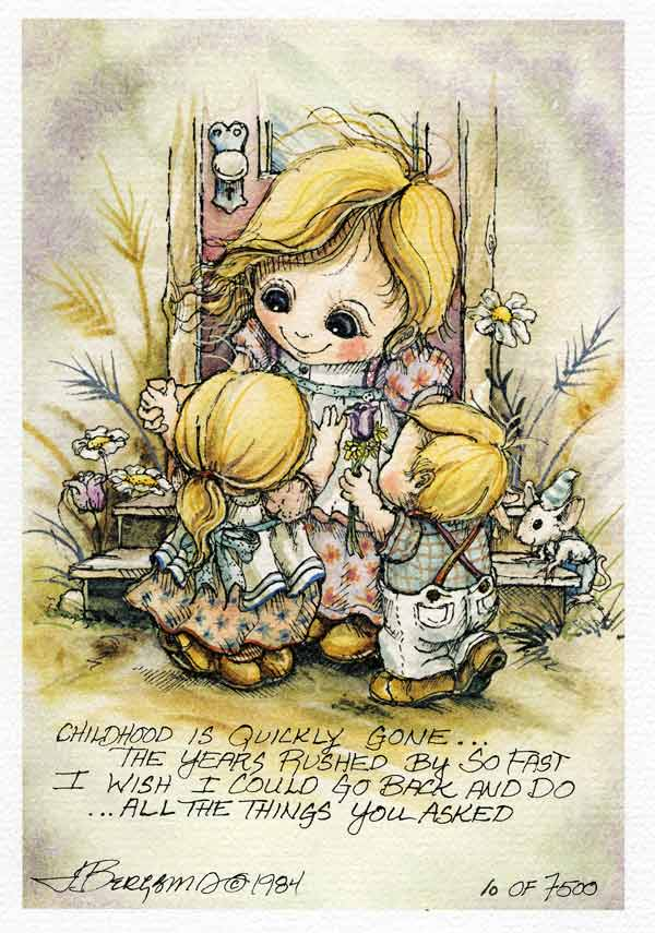 Childhood Is Quickly Gone . . . - DreamKeeper Print