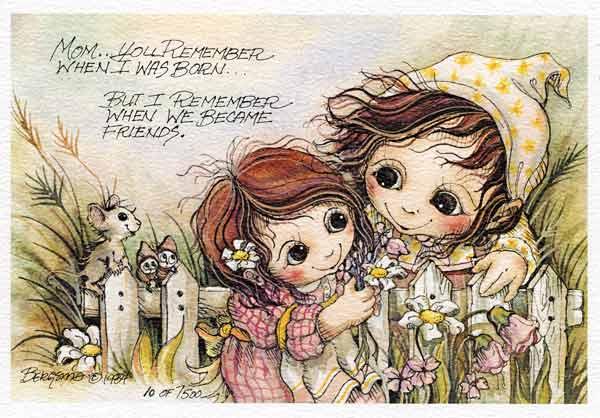 Mom... You Remember When... - DreamKeeper Print