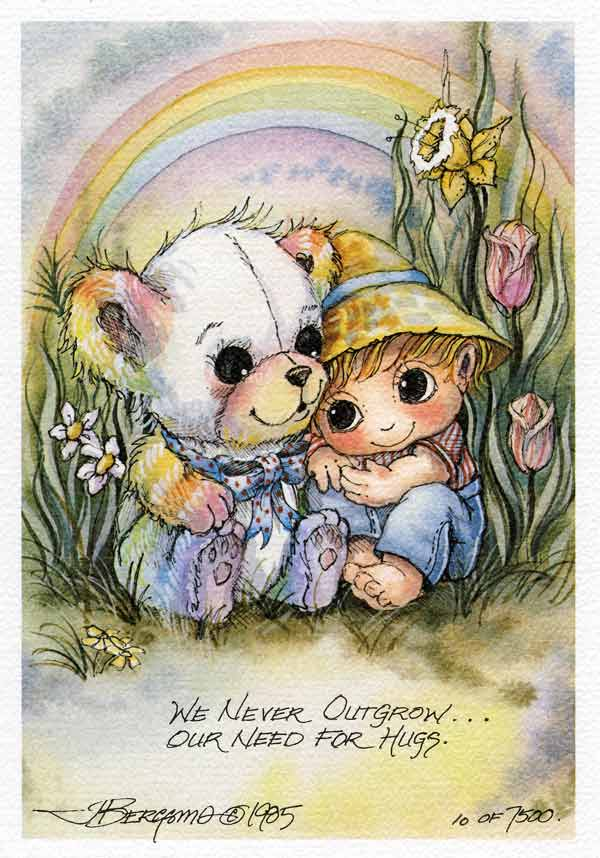 We Never Outgrow... - DreamKeeper Print