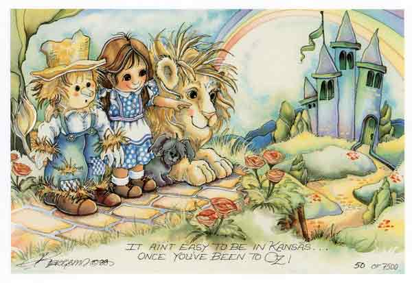 Once You've Been To Oz . . . - DreamKeeper Print