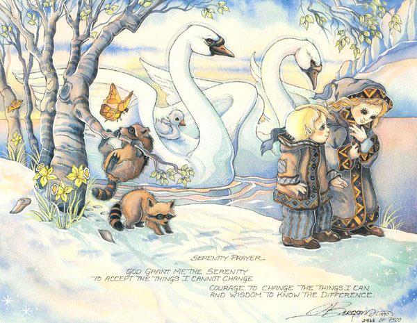 Serenity Prayer - DreamKeeper Print