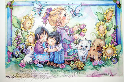Precious Grand Daughter... - DreamKeeper Prints