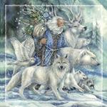 Father Christmas - Tile