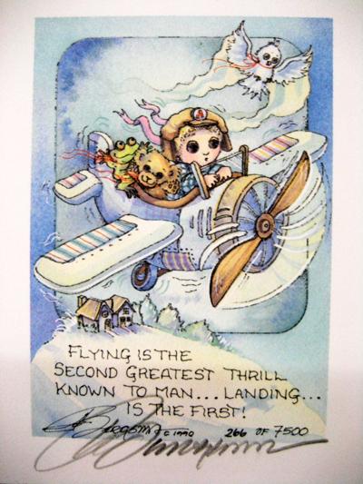 Flying - DreamKeeper Print