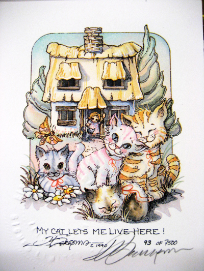 My Cat - DreamKeeper Print