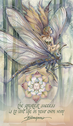 Faeries / Dragon Rider... The Greatest Success Is To Live Life In Your Own Way - Mailable Mini