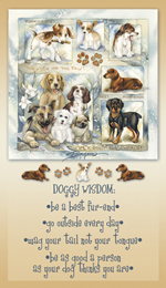 Dogs / It's A Doggy Dog World - Mailable Mini