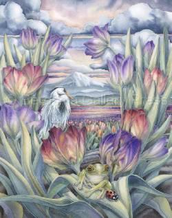 Rainbow Valley - Art Card