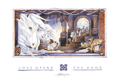 Love Opens The Door - Card